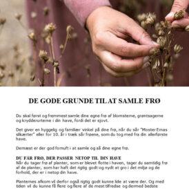 Høst frø fra din egen have - Sådan udvælger, samler og opbevarer du havens bedste frø - E-bog fra Dyrkhaven.dk